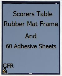 Scorers Table Sticky Mat Gym Floor Resource